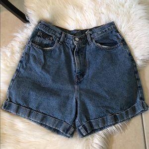 Vintage Calvin Klein high waisted jeans shorts